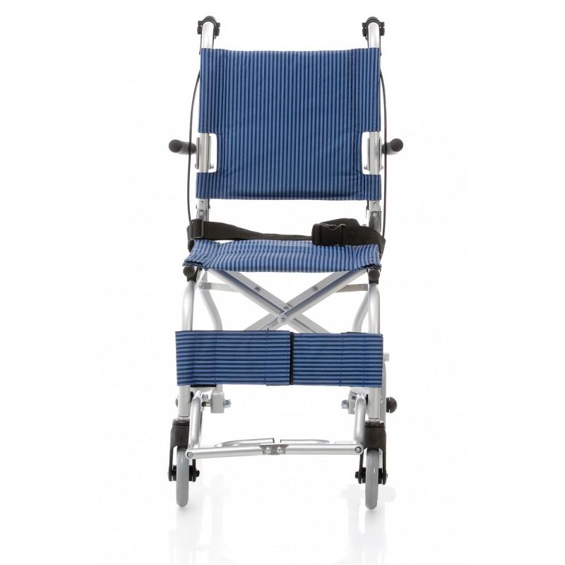Silla de ruedas de traslado de aluminio ortopedia barcelona - Alquiler silla de ruedas barcelona ...