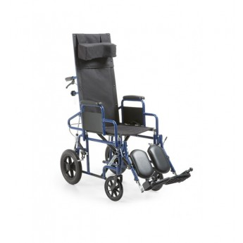 SILLA DE RUEDAS RECLINABLE DE ACERO PC 15